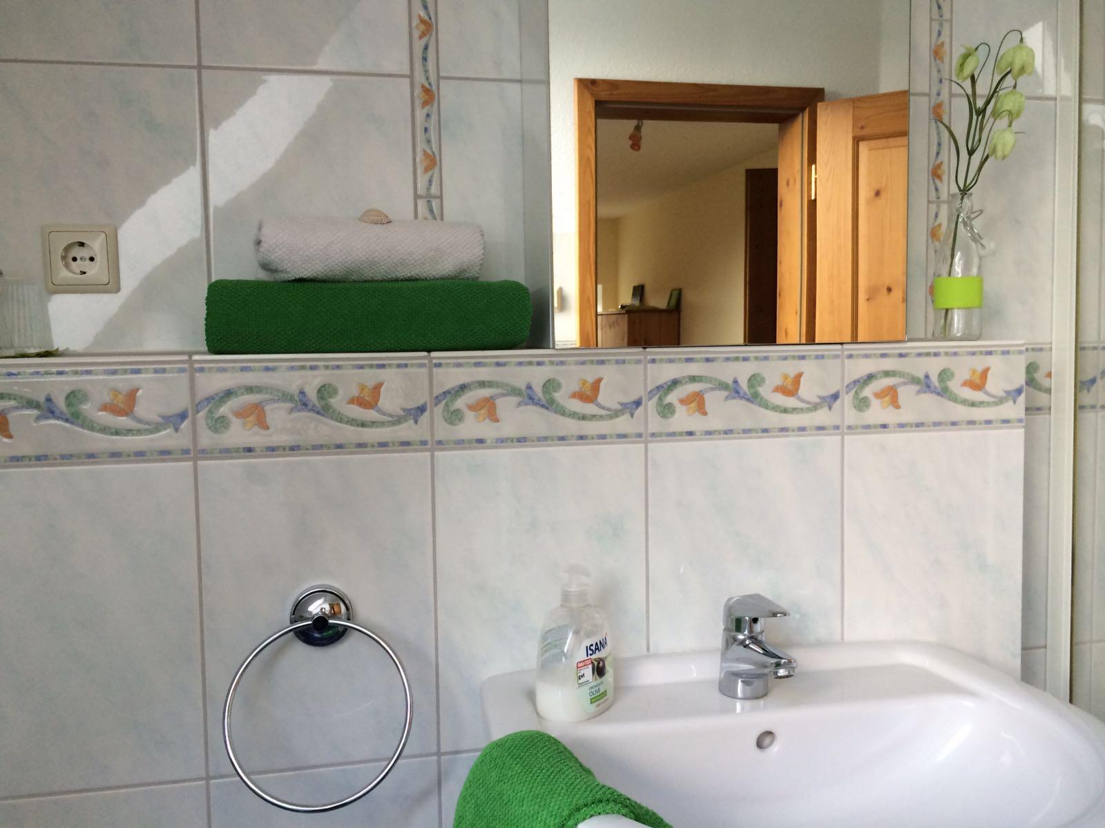 Haus Friesenglück in Kolkerheide, Nordfriesland – Ferienwohnungen und Ferienapartments – Ferienapartment 3 (grün) – Innenansicht 3