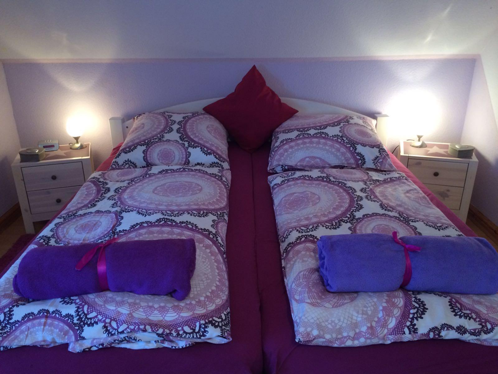Haus Friesenglück in Kolkerheide, Nordfriesland – Ferienwohnungen und Ferienapartments – Ferienapartment 4 (purple) – Innenansicht 4